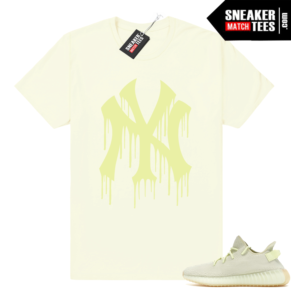 Ny Drip Yeezy Boost 350 Butter Shirt