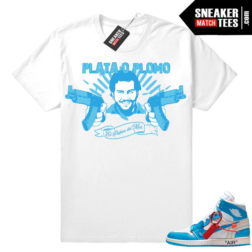 Off-white Jordan 1 Pablo shirt