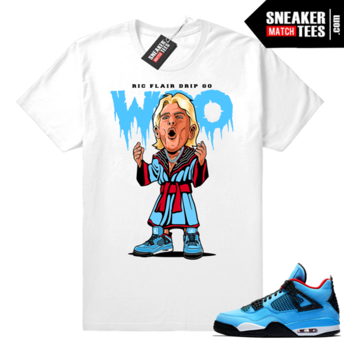 Ric Flair Drip Jordan 4 shirt