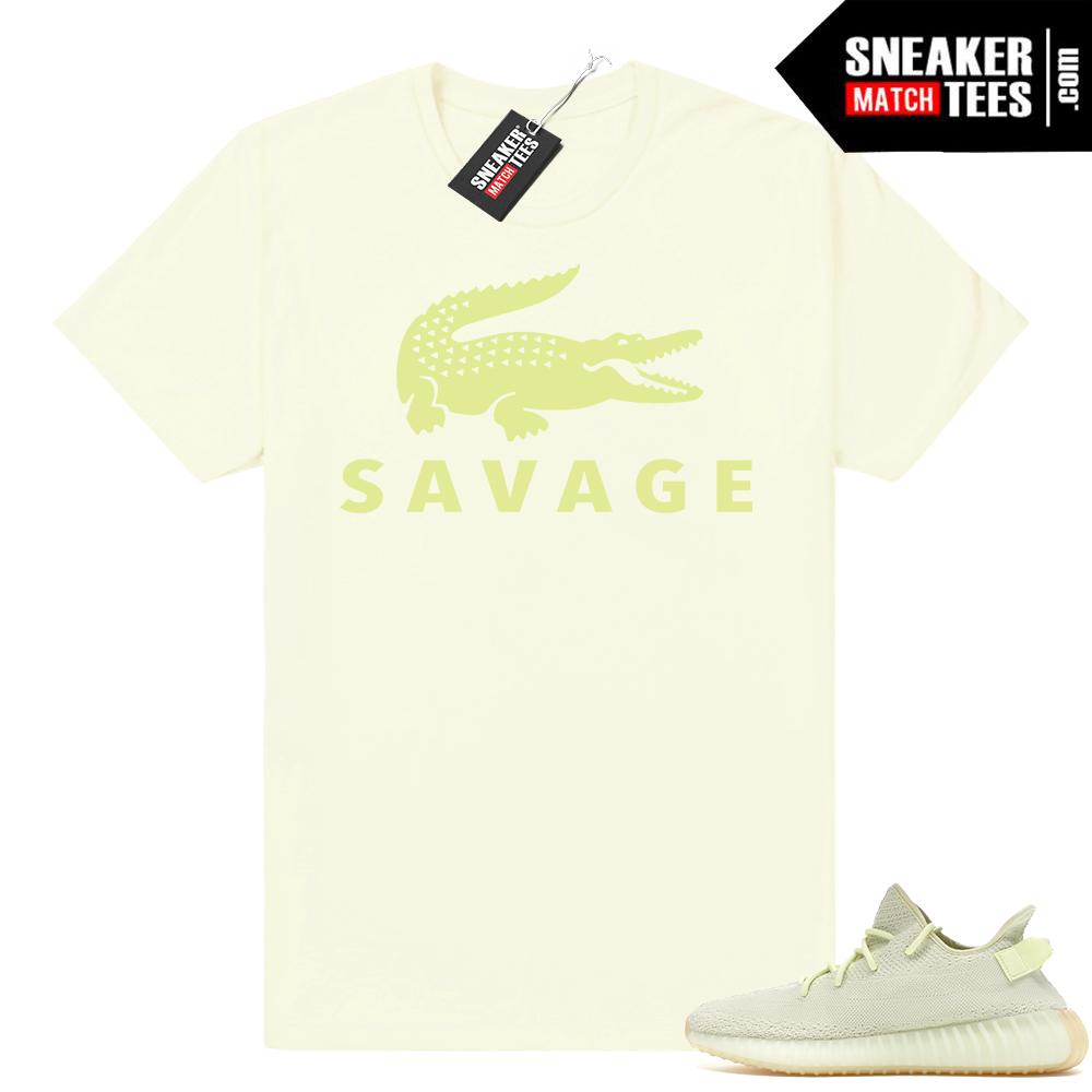 Sneaker shirt Yeezy Boost 350 Butter