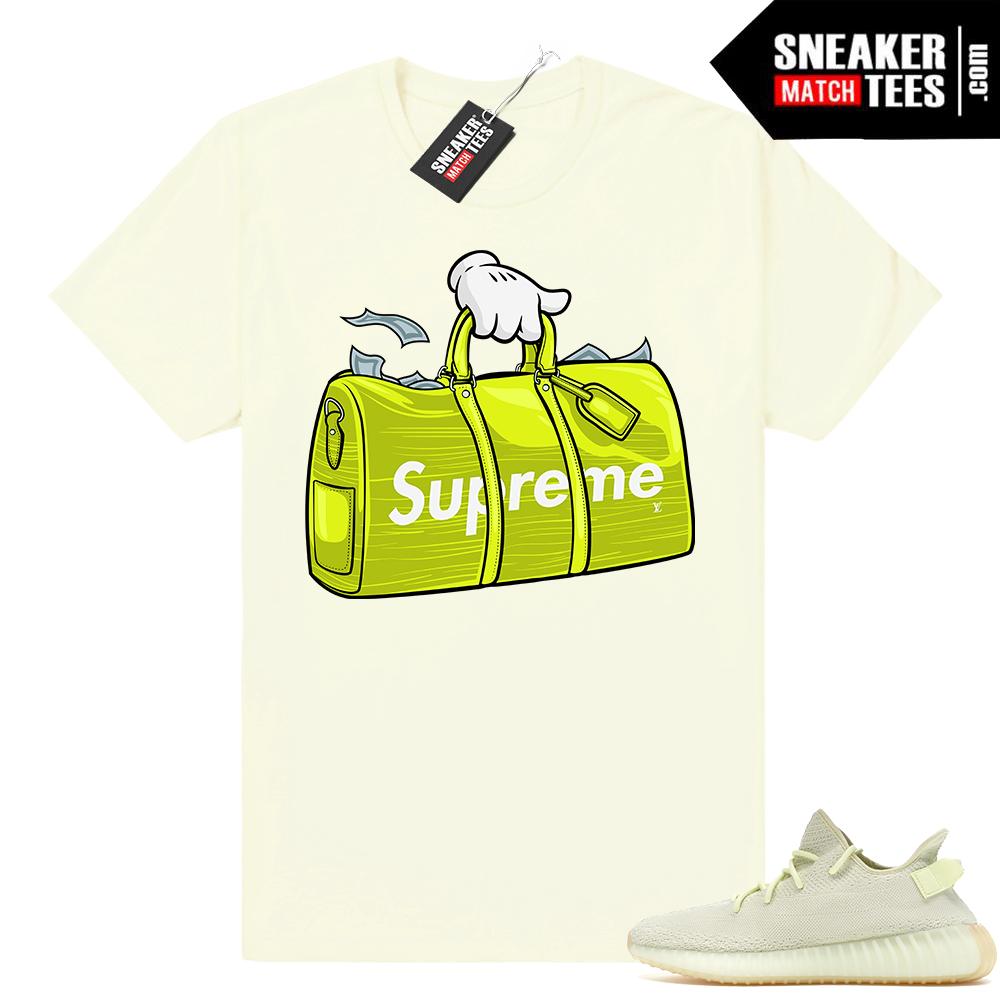 Sneaker tee Yeezy Boost 350 Butter