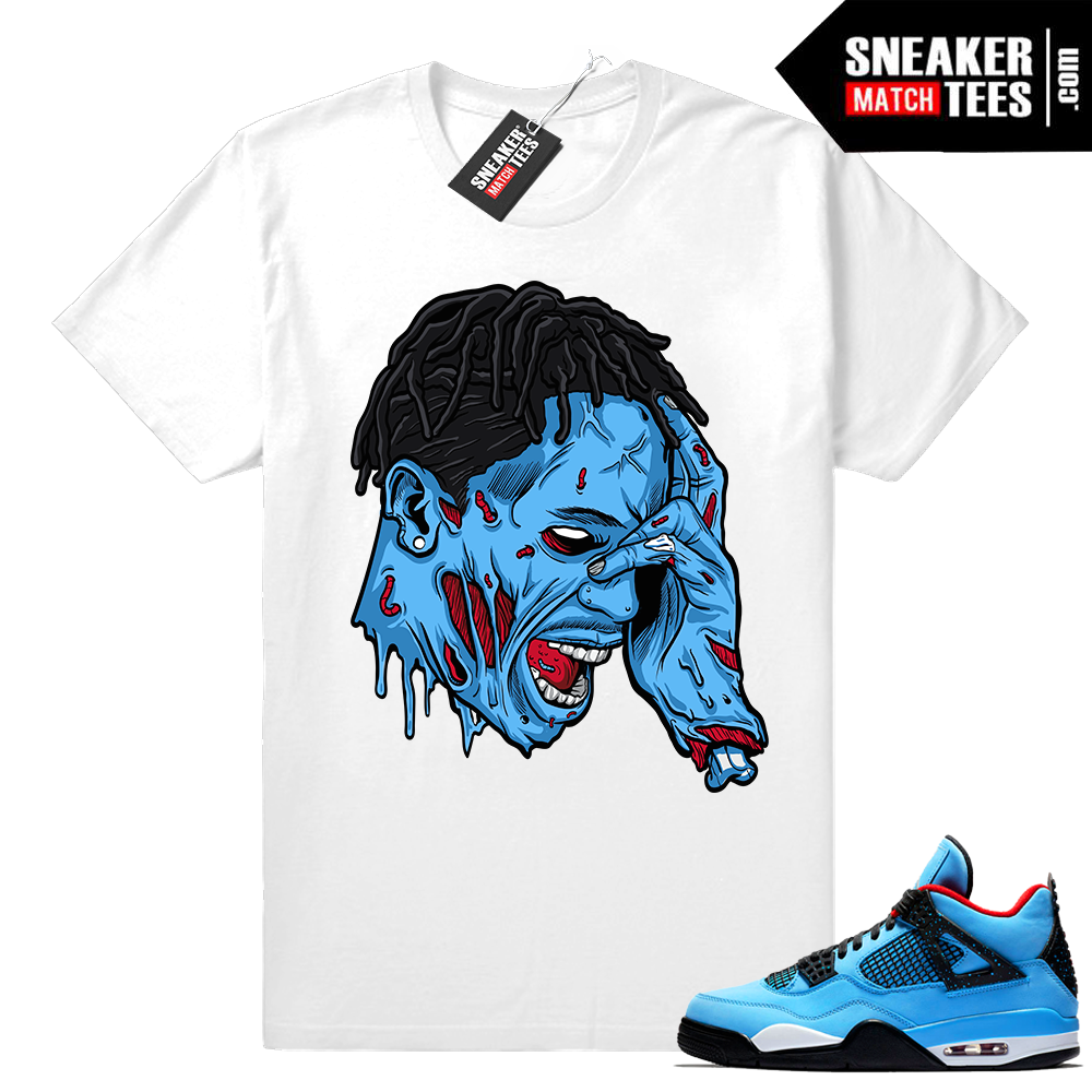Travis Scott Jordan 4 Zombie Shirt