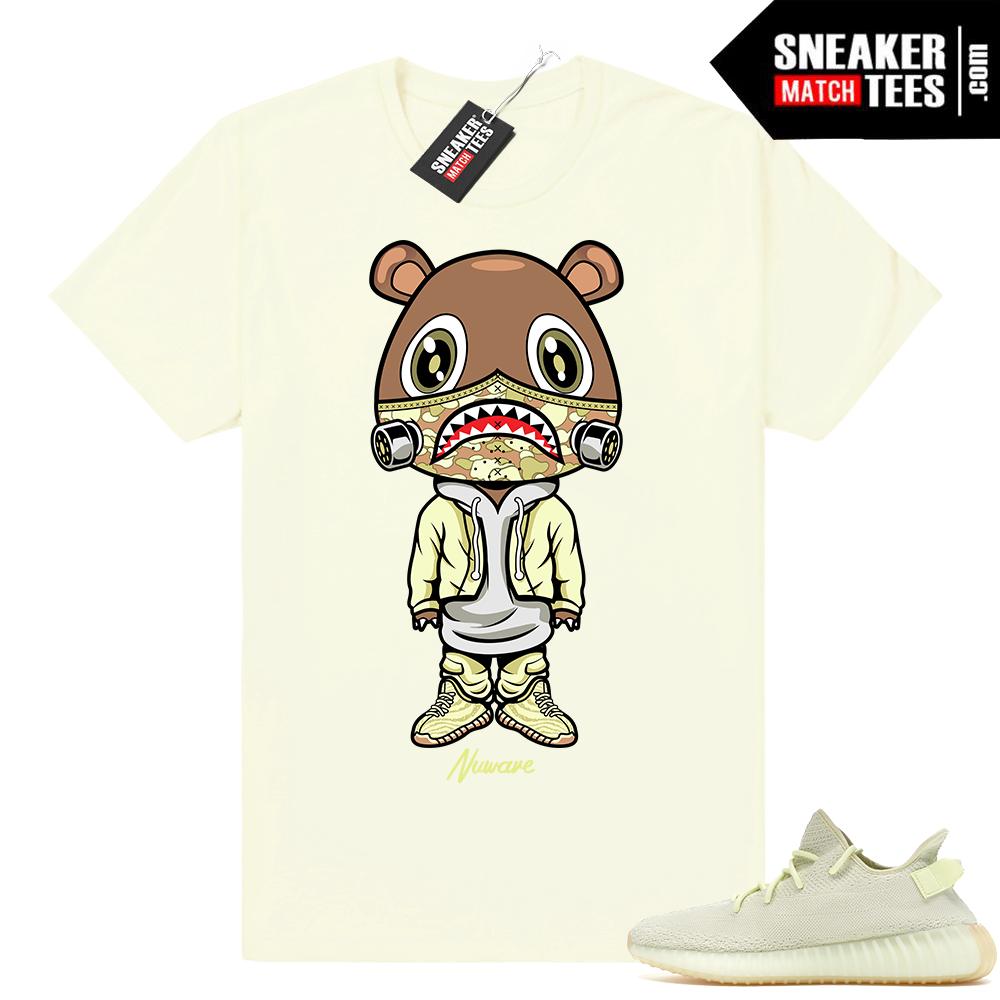 Yeezy Bear Butter 350 Boost shirt