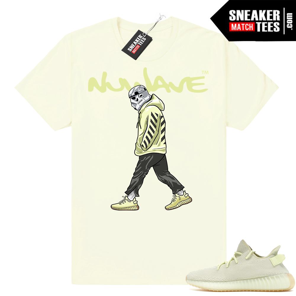 Yeezy Boost 350 Butter shirt to match