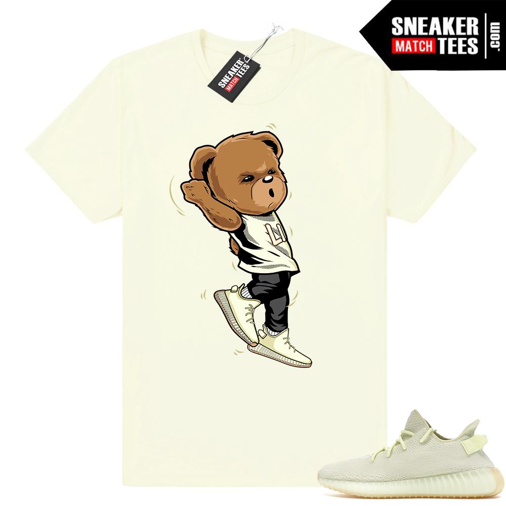 Yeezy Boost Butter bear shirt
