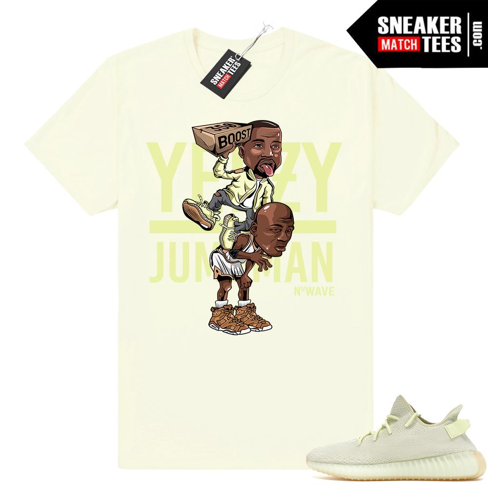 Yeezy Over Jumpman Butter shirt