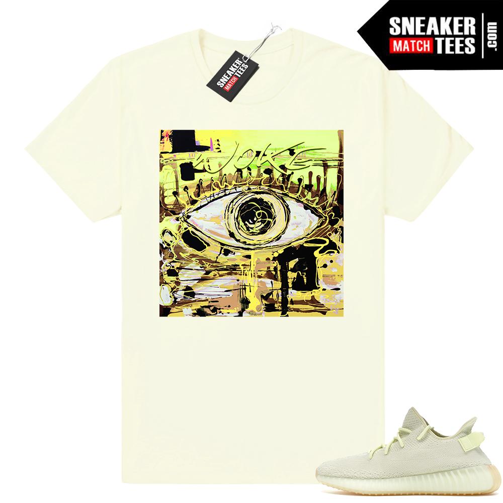 Yeezy boost 350 Butter matching t shirt