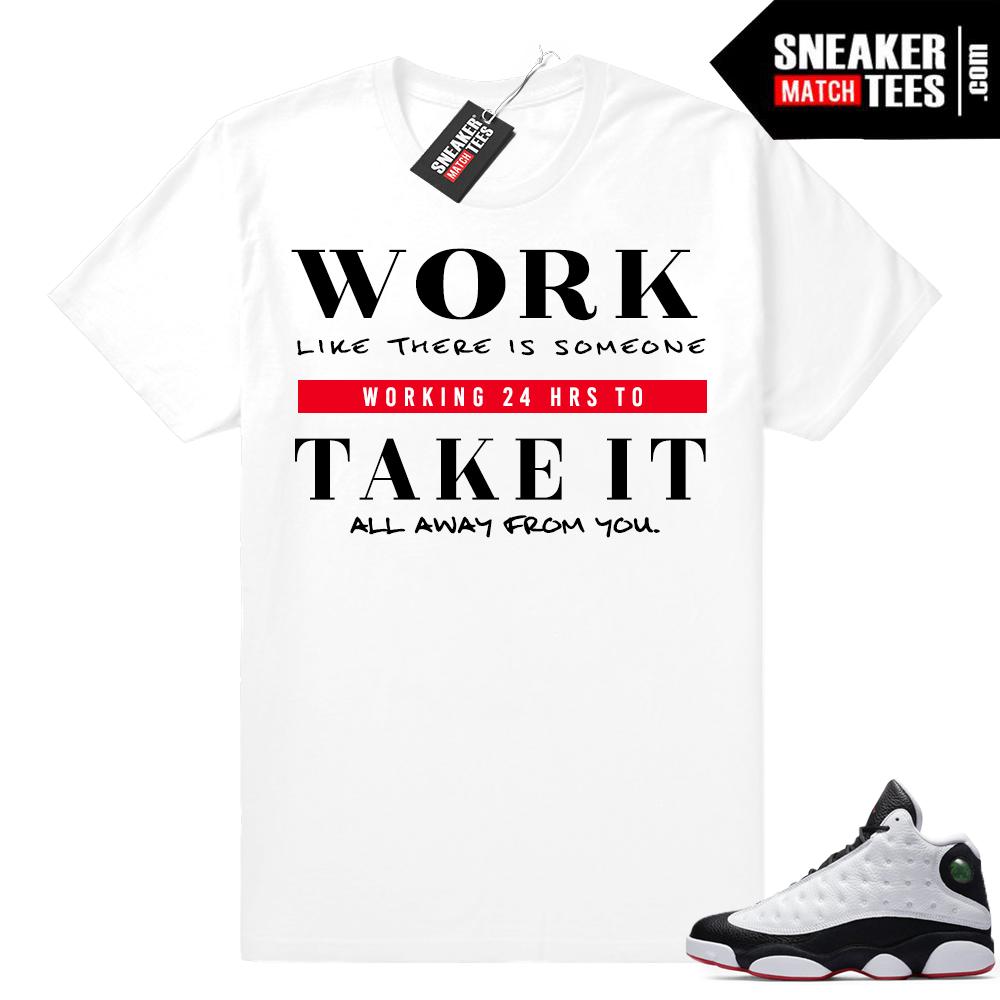Air Jordan 13 He Got Game Shirts