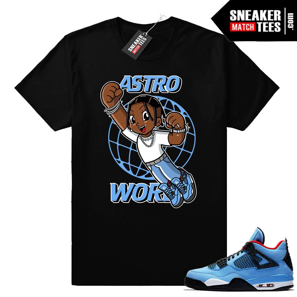 New Jordan Releases Cactus Jack 4 shirts