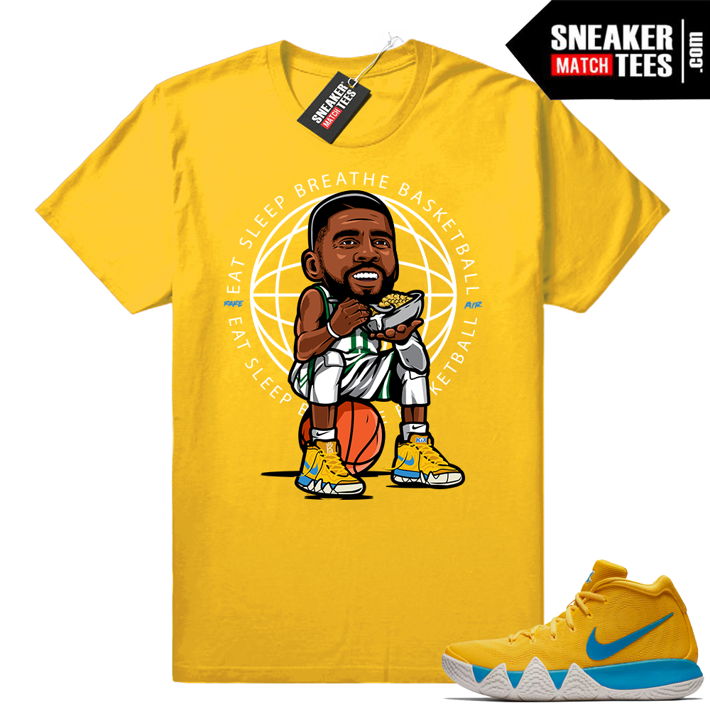 Eat Sleep Breathe Basketball Kyrie 4 kix shirt