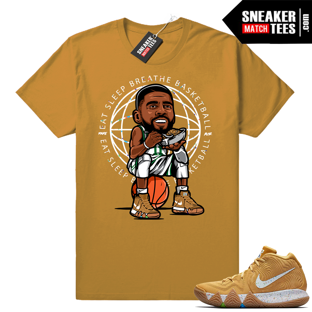 Eat Sleep Breathe Basketball Kyrie 4 shirt