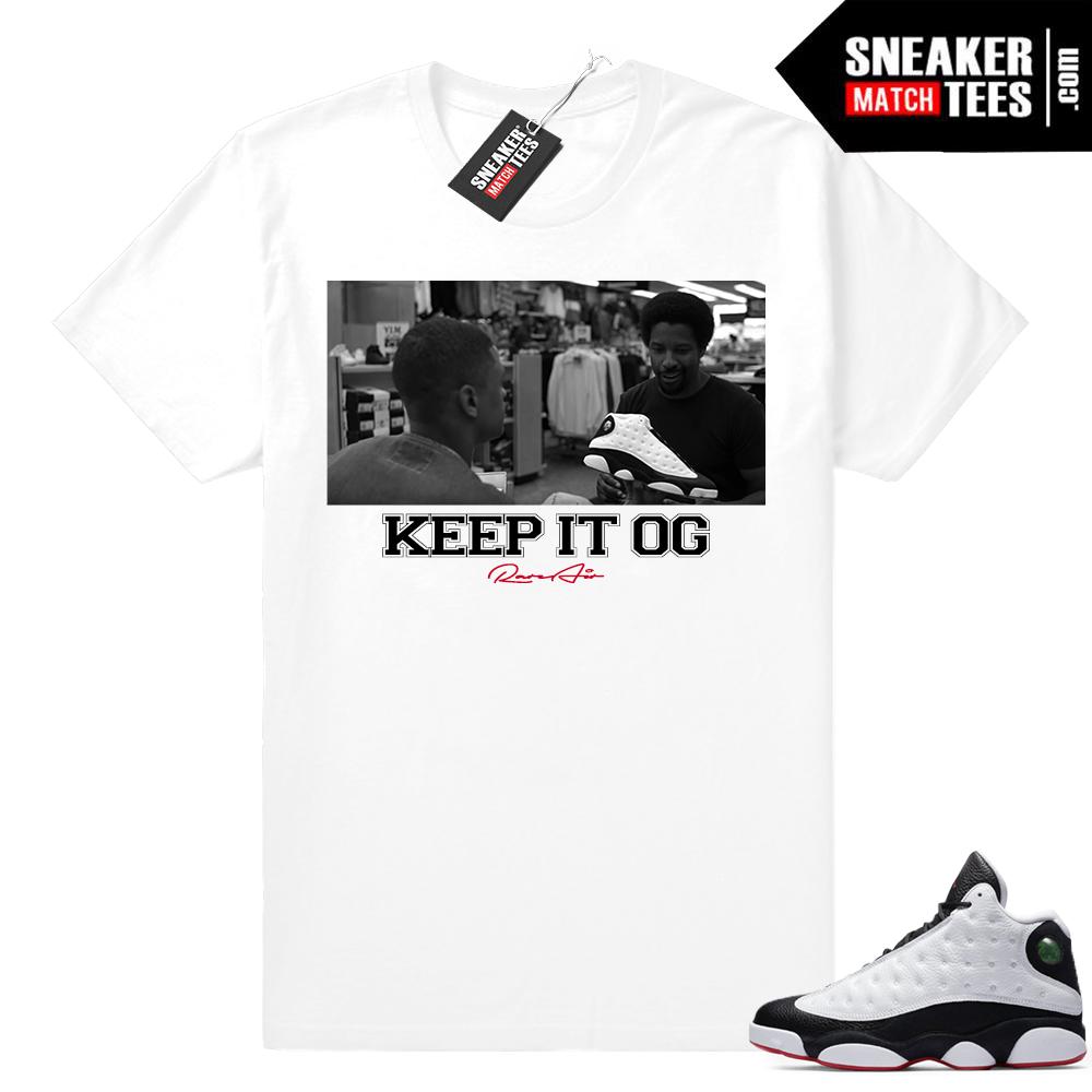 Jordan 13 He Got Game OG shirt