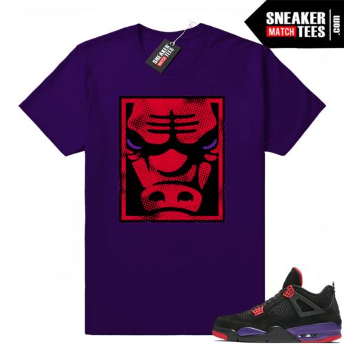 Jordan 4 Raptors Sneaker tee shirt