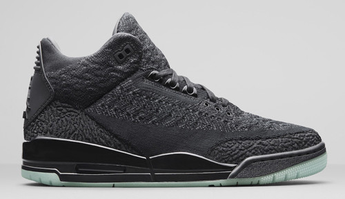 Jordan release dates Jordan 3 Flyknit black