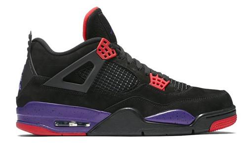 Jordan release dates Jordan 4 Raptors
