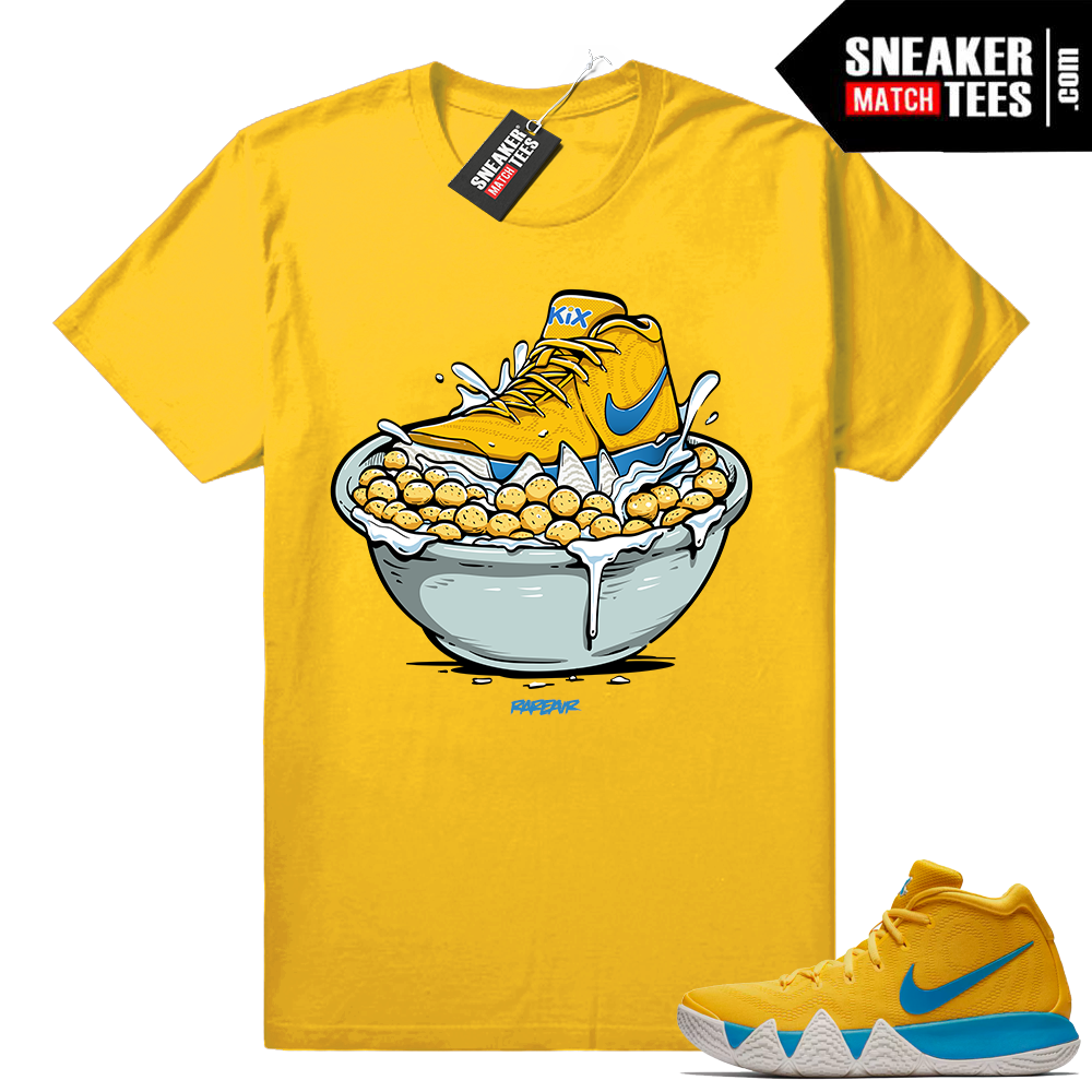 Kix Kyrie 4 Cereal Pack shirt