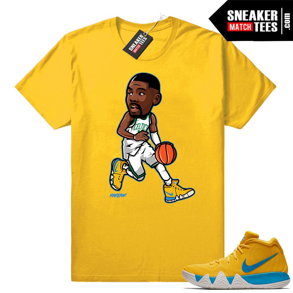Kix Kyrie 4 sneaker tee shirt