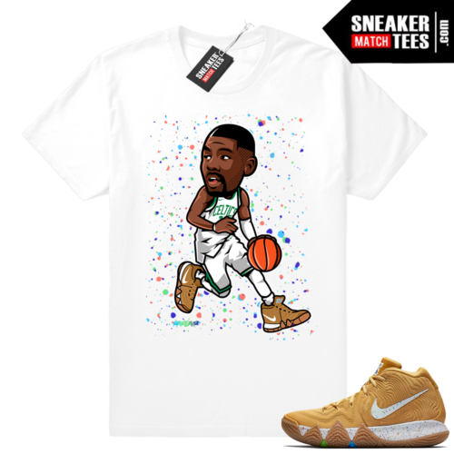 Kyrie 4 Cinnamon Toast Crunch match shirt