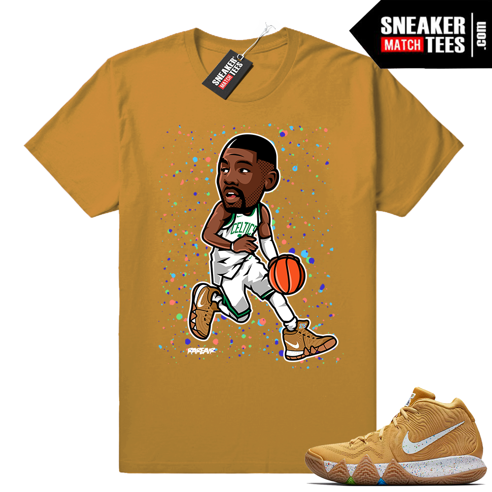 Kyrie 4 Cinnamon Toast Crunch t shirt