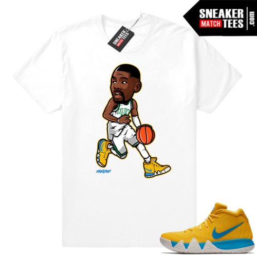 Kyrie 4 Kix t shirt match