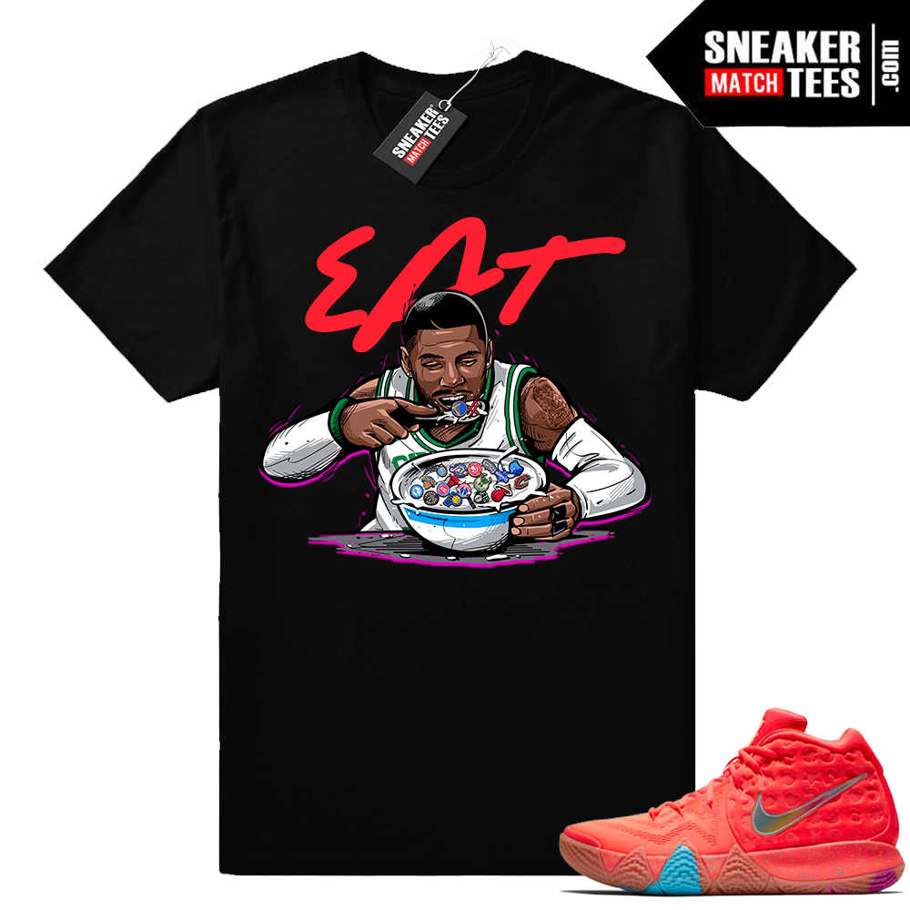 Kyrie 4 Lucky Charms Cereal Pack t shirt