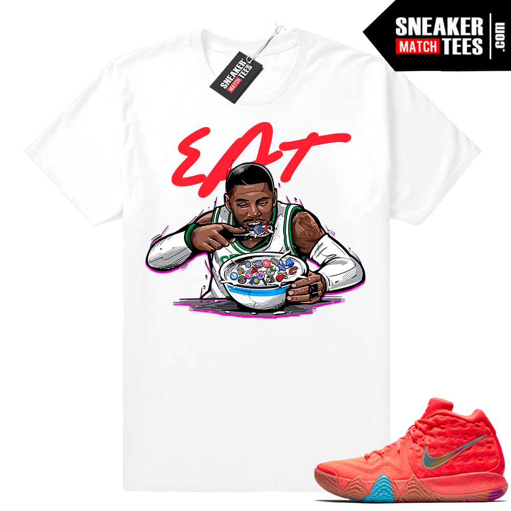Kyrie 4 Lucky Charms Cereal Pack tee shirt