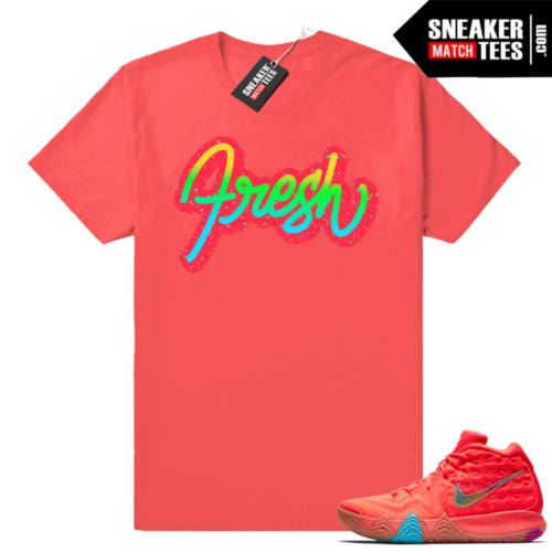 Kyrie 4 Lucky Charms Fresh t shirt