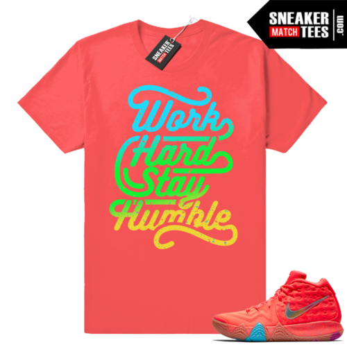 Kyrie 4 Lucky Charms shirts