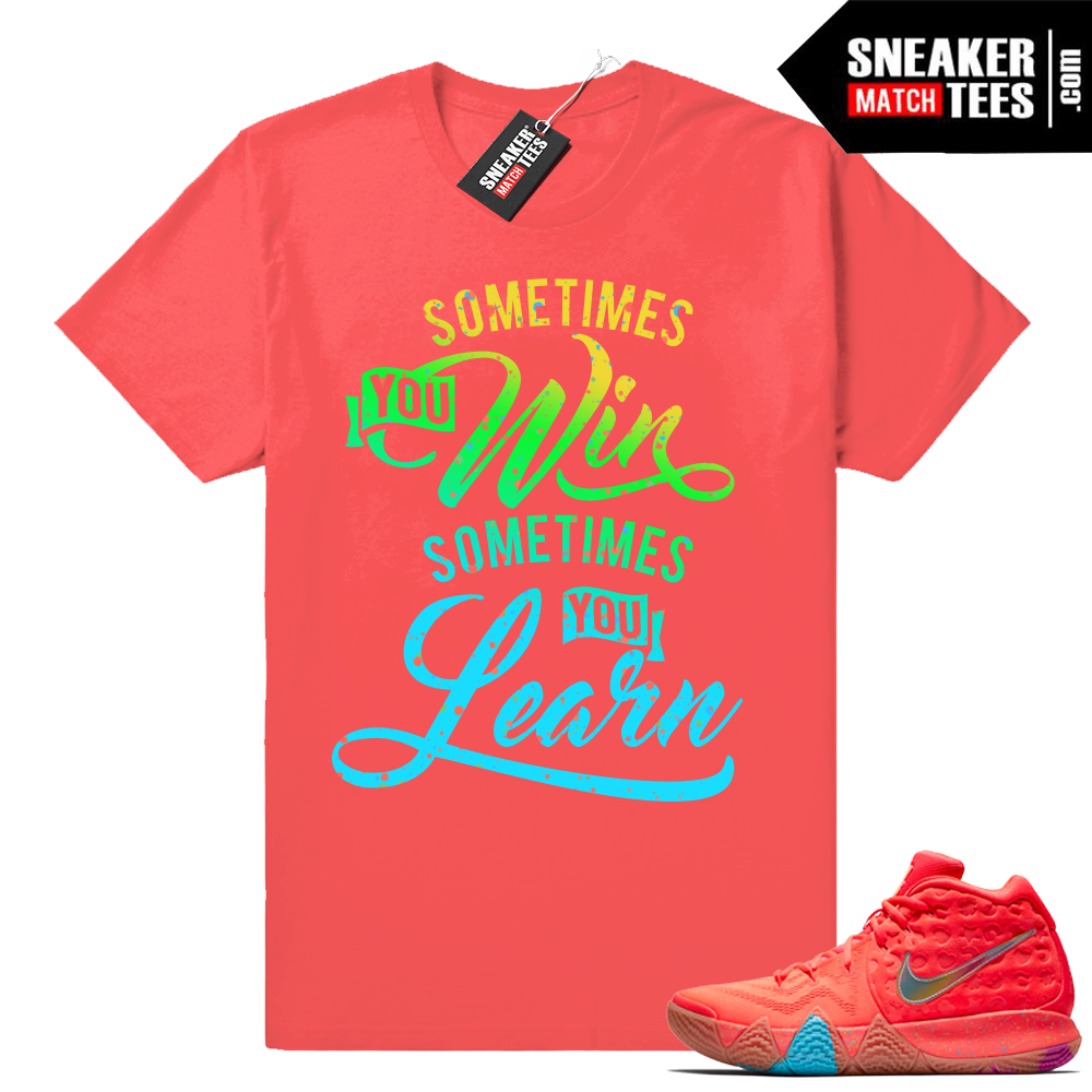 Kyrie 4 matching Lucky Charms shirts
