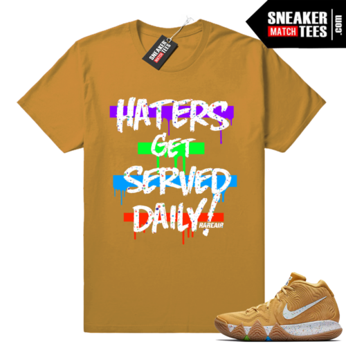 Kyrie 4 shirts matching Cinnamon Toast Crunch Cereal Pack