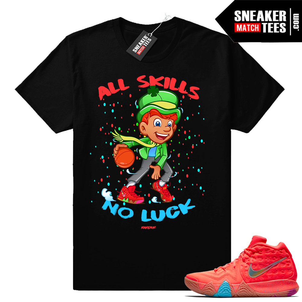 Lucky Charms Kyrie 4 Cross Over shirt