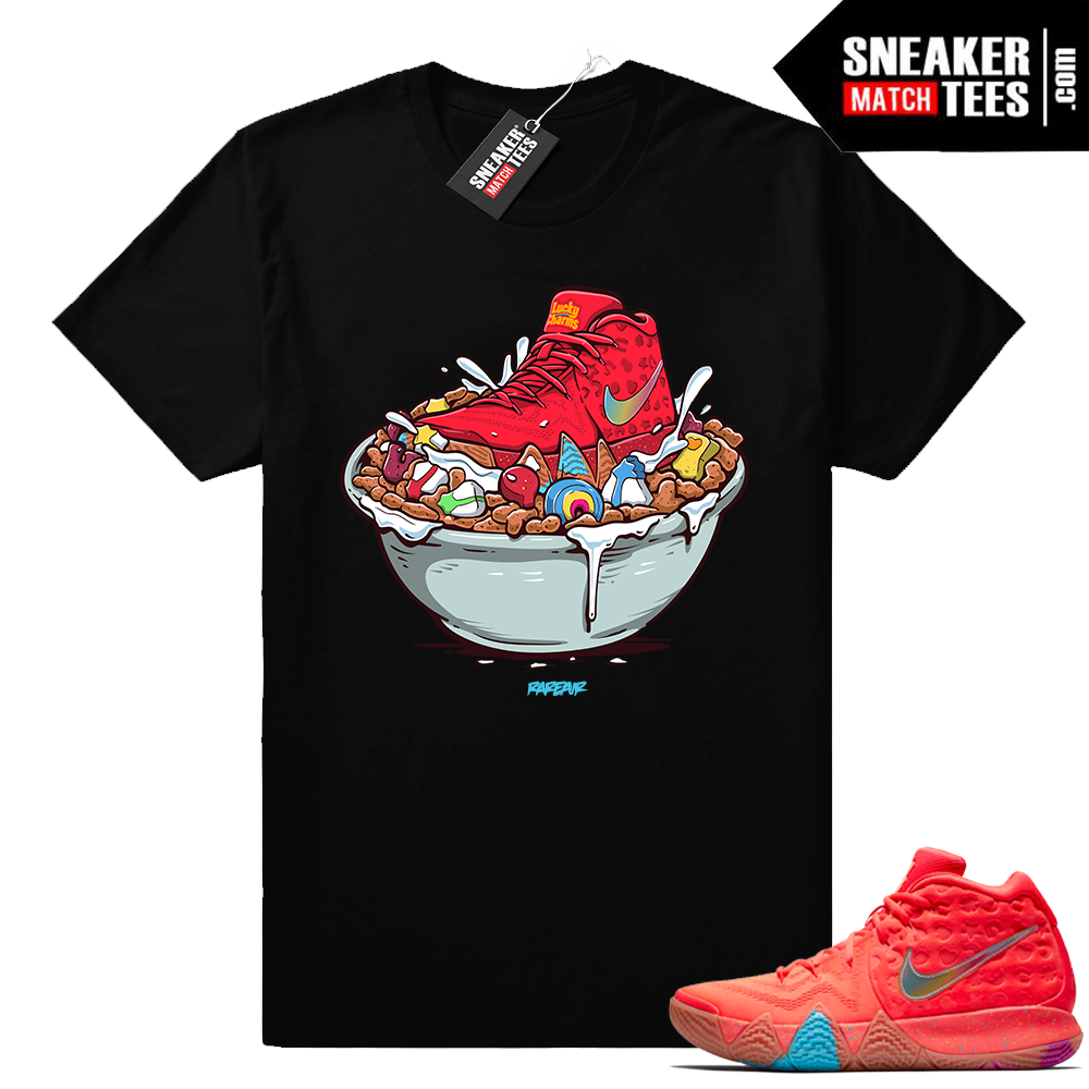 Nike Kyrie 4 Lucky Charms shirt match