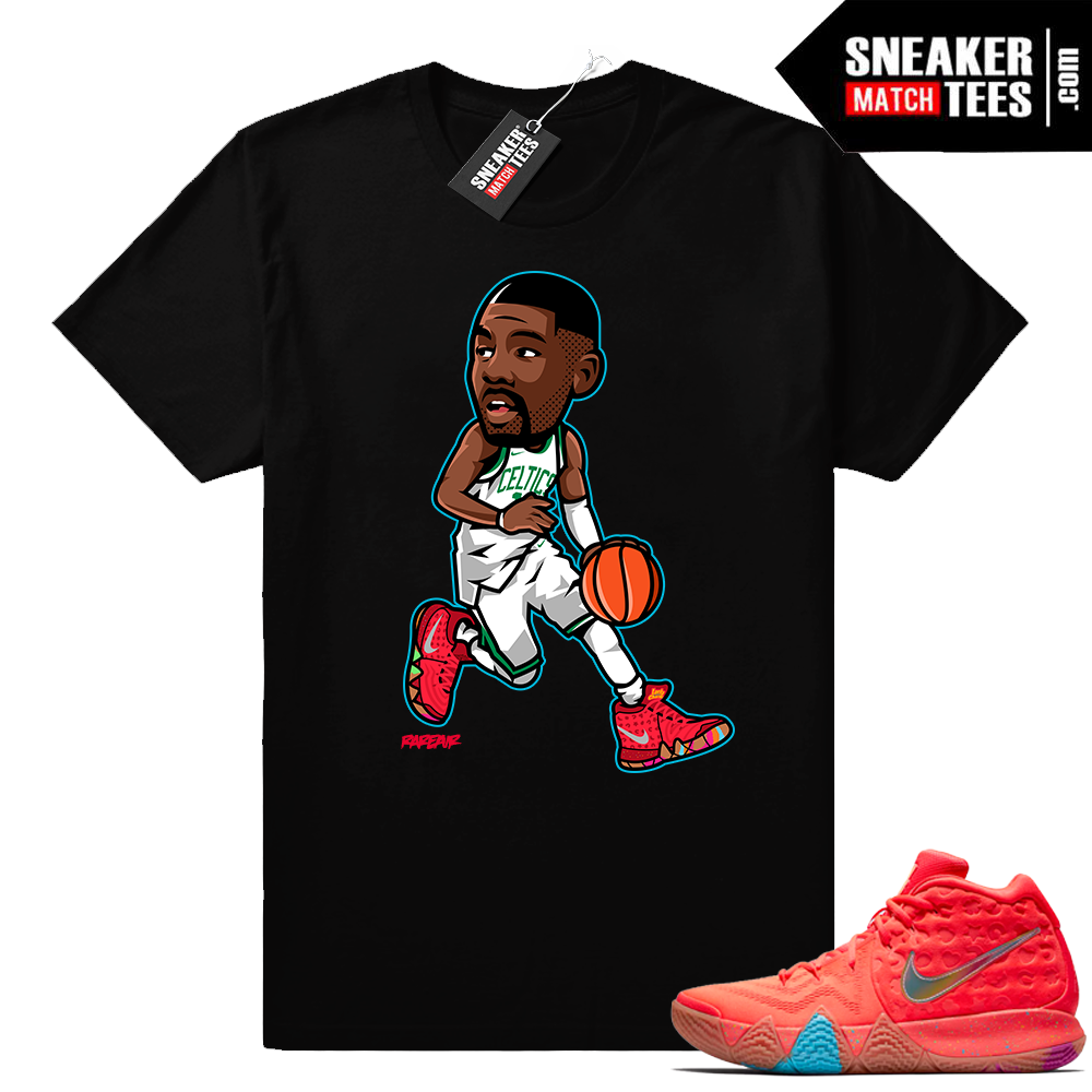 Nike Kyrie 4 Lucky Charms sneaker shirt