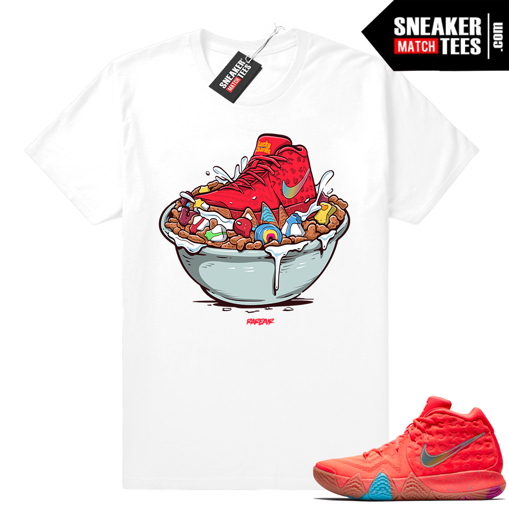 Nike Kyrie 4 Lucky Charms tee shirt