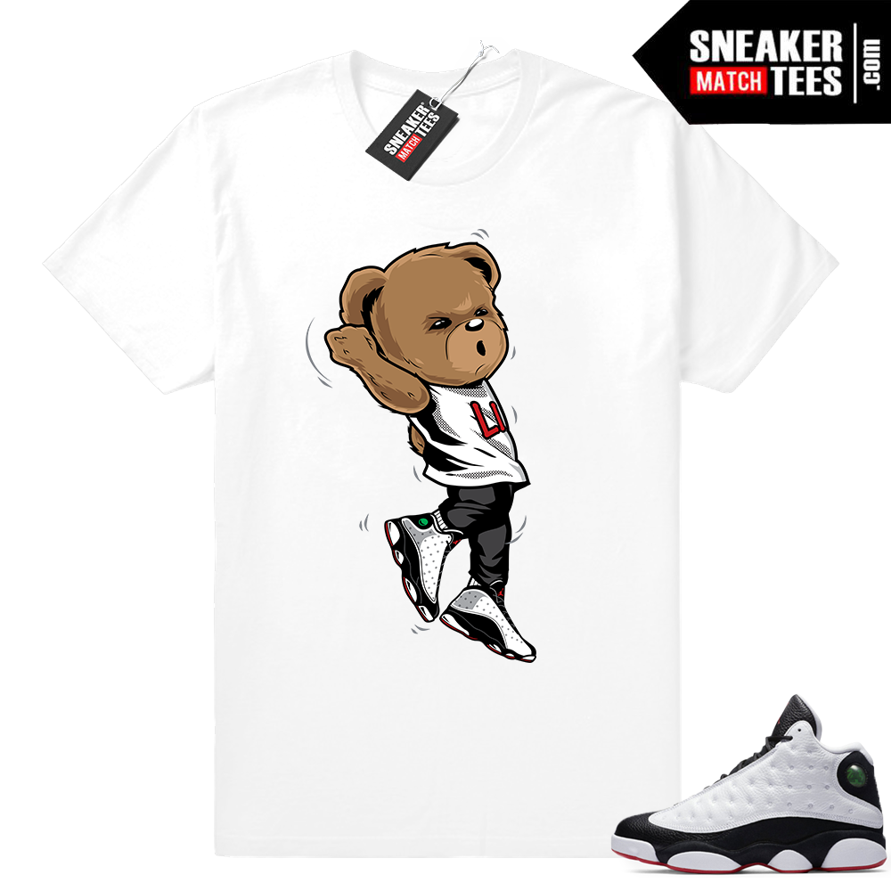 Shirts matching He Got Game 13s