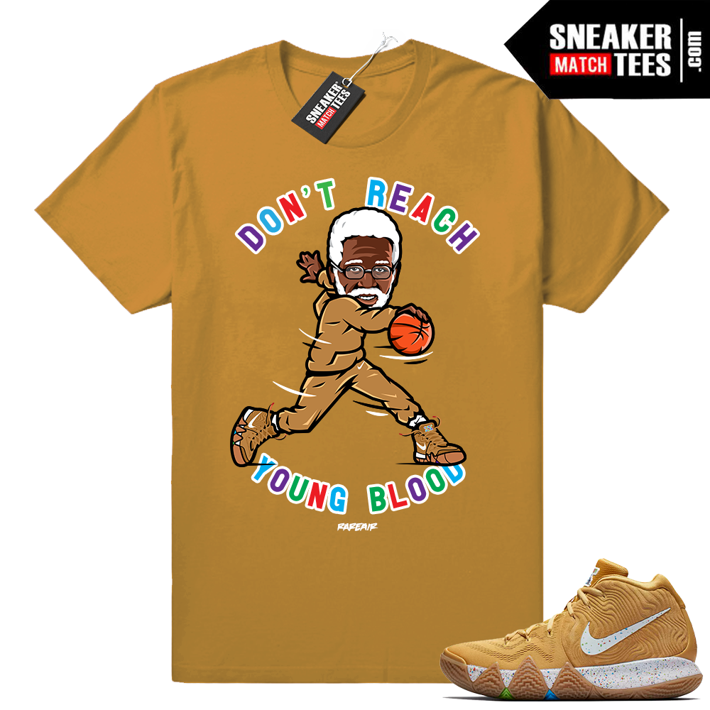 Uncle Drew Kyrie 4 Cinnamon Toast Crunch shirt