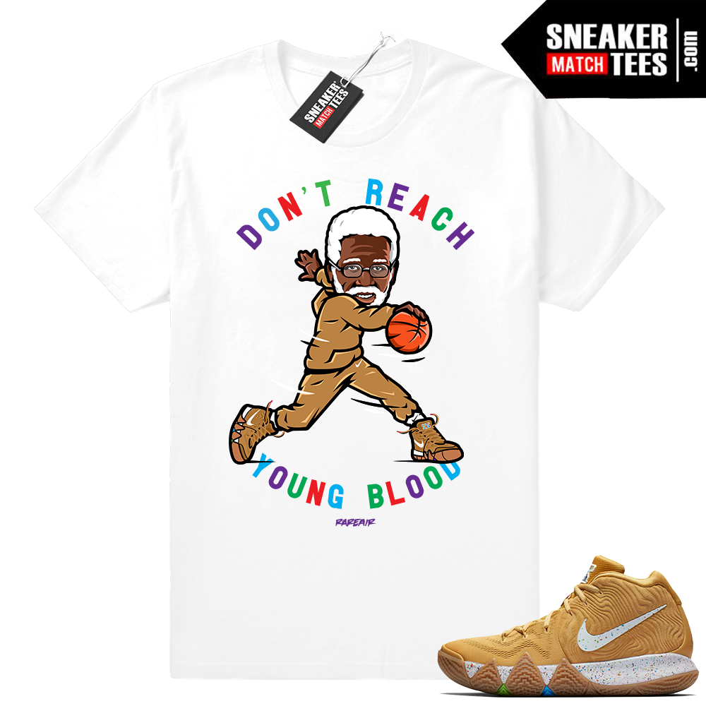 Uncle Drew Kyrie 4 Cinnamon Toast Crunch tee