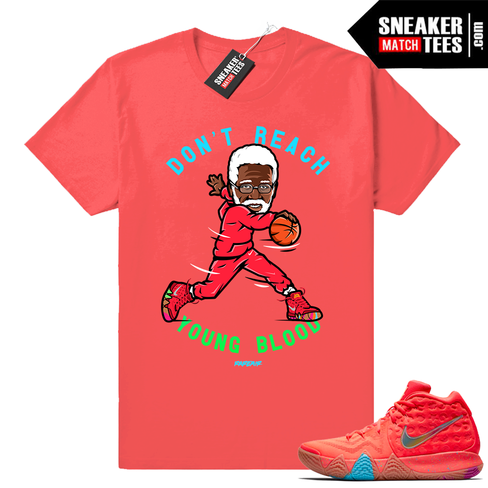Uncle Drew Kyrie 4 Lucky Charms Tee shirt