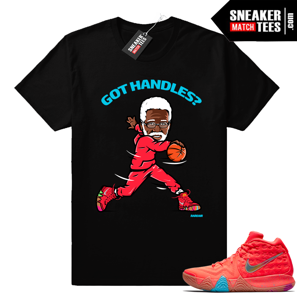 Uncle Drew Kyrie 4 Lucky Charms sneaker tee shirt