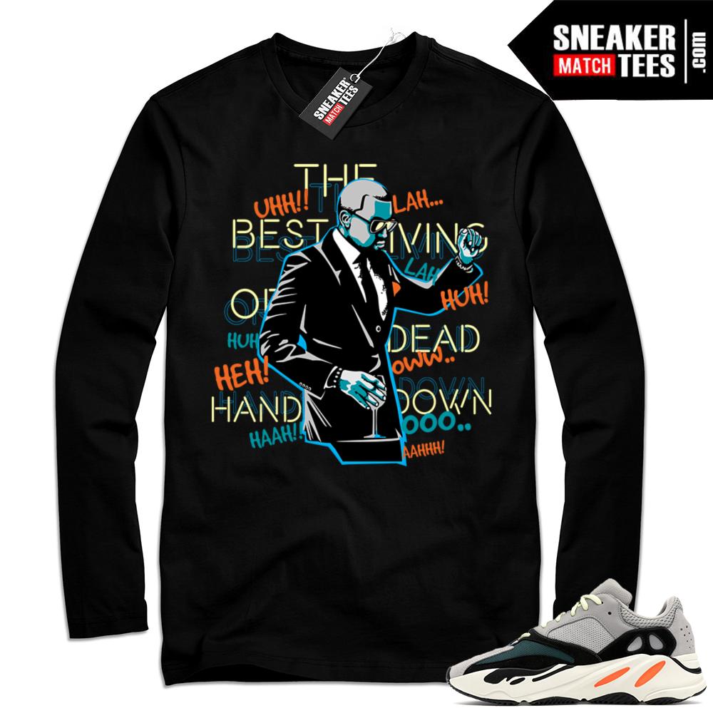 Wave Runner Yeezy Long Sleeve Shirt