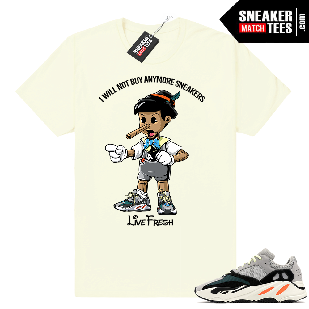 Yeezy Wave Runner 700 shirts to match sneakers Sneaker