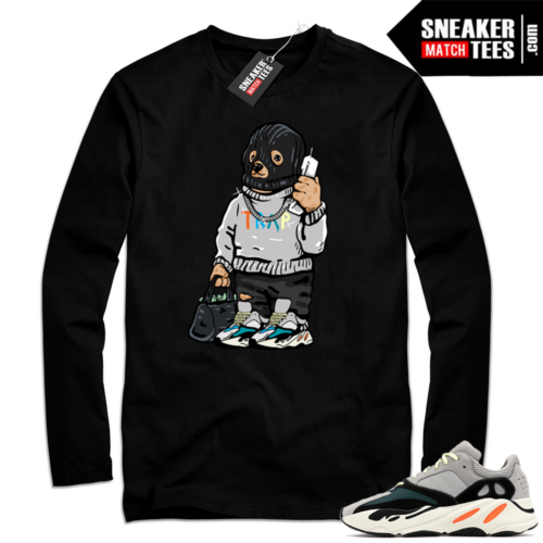 Yeezy Wave Runner Black shirt