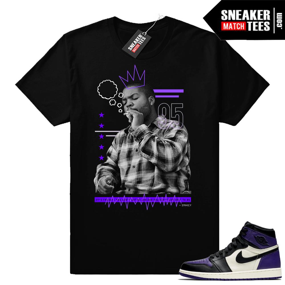 Air Jordan 1 Court Purple sneaker clothing