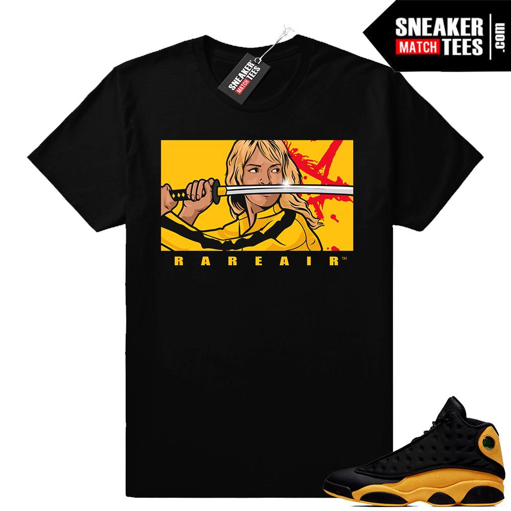 Air Jordan 13 shirt match Melo 13s
