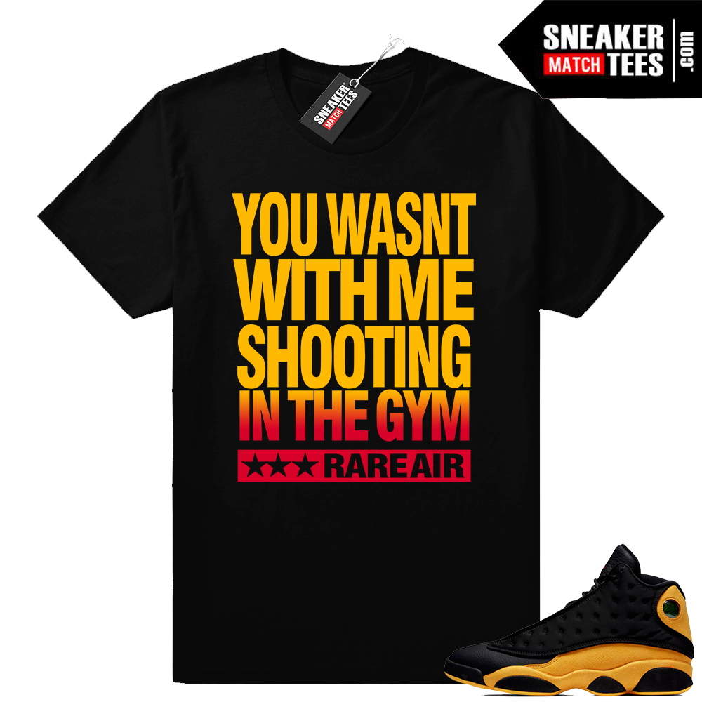 Air Jordan 13 sneaker match shirts Melo 13s