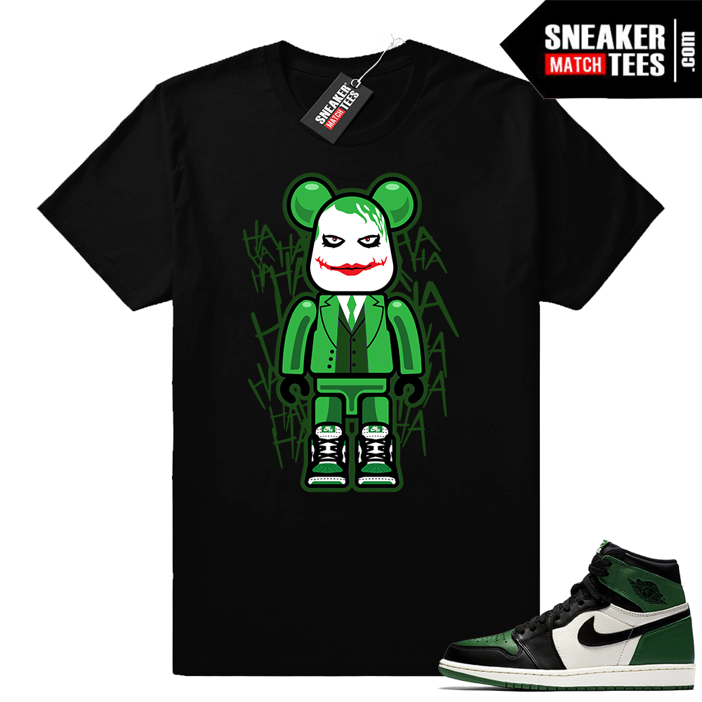 Air Jordan Retro 1 shirt Pine Green 1s
