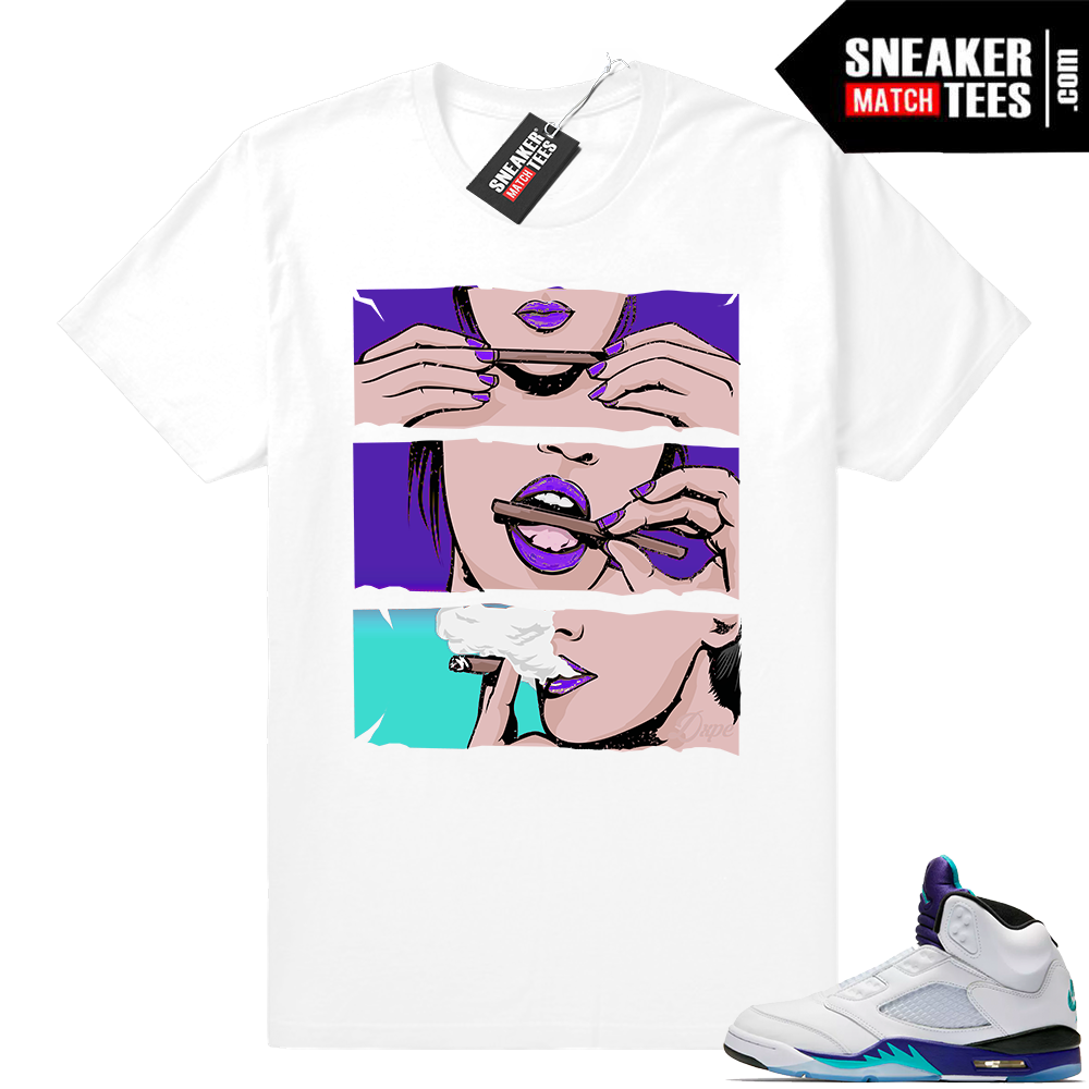 Air Jordan Retro 5 Fresh Prince shirt
