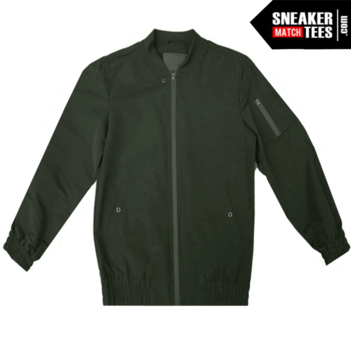 Bomber Jacket Olive Green (1)