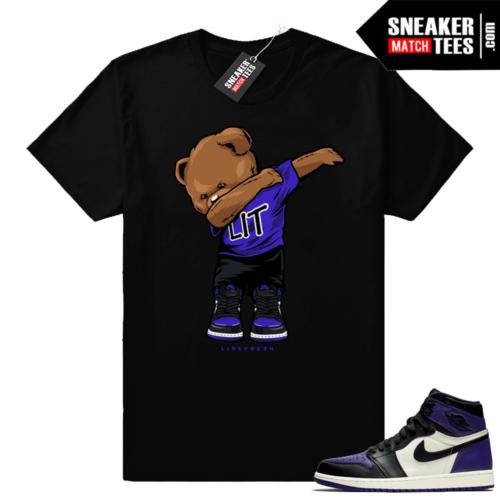 Court Purple 1s shirt