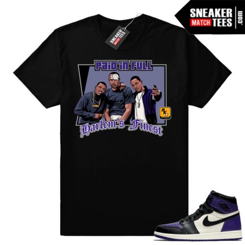 Court Purple Jordan 1 shirts